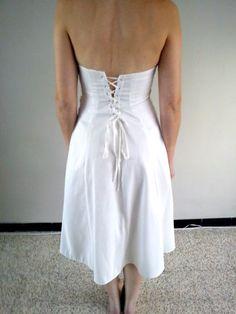 Robe de cocktail avec étole - robes mariée occasion originales pas cher - Annonces gratuites de robes de mariée pas cher et costumes de mari...