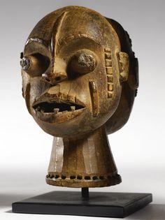 Boki Janus Headcrest, Cross River Region, Nigeria | lot | Sotheby's