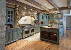 Stunning 35 Fabulous Modern Farmhouse Kitchen Decorations http://homiku.com/index.php/2018/04/19/35-fabulous-modern-farmhouse-kitchen-decorations/