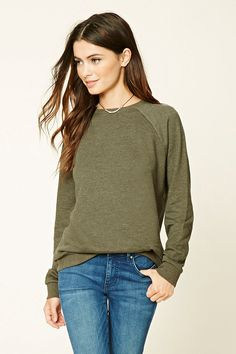 Knit Sweatshirt | Forever 21 - 2000198775
