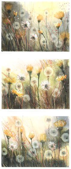 Summer of dandelion by nibybiel on DeviantArt