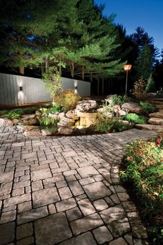Walkway ideas with pavings stones. Yes, this really can be  yours!