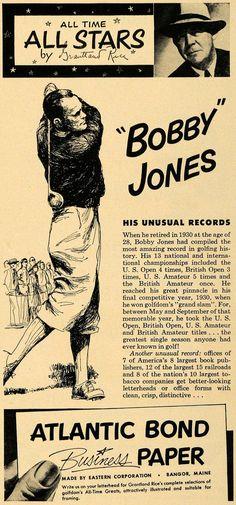 Bobby Jones (1902-1971)