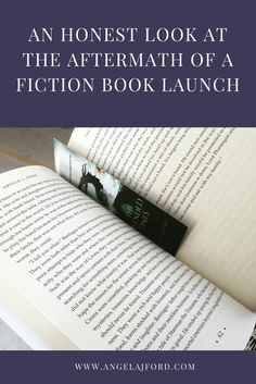 An Honest Look at the Aftermath of a Fiction Book Launch