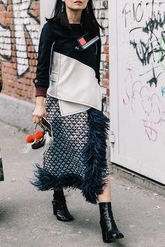 Street Style Milan. Febrero 2017