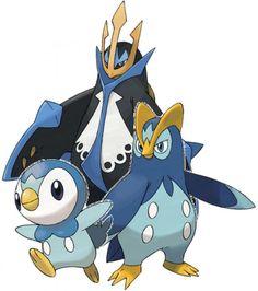 Resultado de imagen para piplup pokemon evolucion