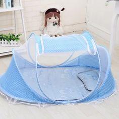 ราคาถูก  FIREWORK Fabric Baby Playpen Foldable Baby Bed Infant Baby Bed  ราคาเพียง  569 บาท  เท่านั้น คุณสมบัติ มีดังนี้ &Infant baby bed Fabric baby playpen 100% Brand New &High quality &Main Color: Blue,Pink &Type: Princess Tent &Pattern: Dot&