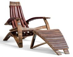wine barrel furniture | Intriguing furniture pieces made out of whiskey barrels