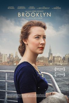 Brooklyn (2015).  A good little, old-fashioned romance movie.  Nothing terribly original, but nicely done.  Saoirse Ronan is a magnificent young actress.