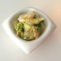 さーぱり、ぱくぱく食べれます! - 7件のもぐもぐ - まよゴマ白菜サラダ by keikorian