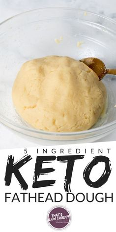 Fathead Dough is an easy low carb dough with tons of uses. We'll show you how to make fat head dough with just 5 ingredients and make into Keto friendly pizza crust or bagel or cinnamon rolls ... this dough does it all! #keto #ketodough #fatheaddough #ketorecipe #ketodiet #lowcarbdiet #lowcarbrecipe #lowcarbdough #lowcarb Low Carb Bagels, Low Carb Flour, Keto Bagels, Keto Foods, Keto Meal, Keto Snacks, Snacks List, Ketogenic Recipes, Pan Cetogénico