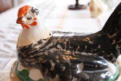 Nostalgias verden: Søkeresultat for egersund Nostalgia, Hens On Nest, Chickens And Roosters, Norway