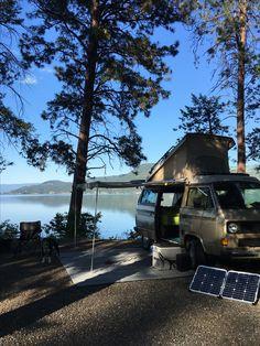 The Vanlife in Okanagan Valley, British Columbia, Canada. #vanlife #westfalia