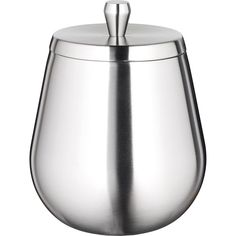 Orb 1.6-quart Brushed Stainless Ice Bucket
