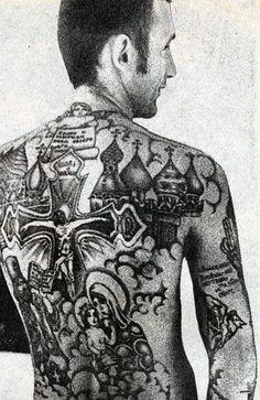 Russian Criminal Tattoo Art