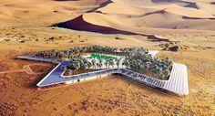 Así será el resort más ecológico del mundo