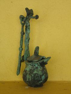Bronze. Pers. Collection.P-M  Zervos