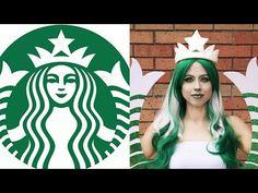 Starbucks Halloween Costume, Blonde Halloween Costumes, Couple Halloween Costumes For Adults, Baby Girl Halloween, Halloween Fun, Couple Costumes, Funny Costumes, Diy Costumes, Woman Costumes