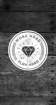 Work Hard Play Hard #quotes - iPhone wallpaper @mobile9