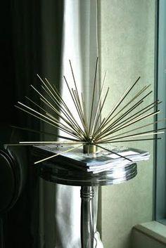 DIY Faux Brass Starburst by bromeliadliving #Starburst #DIY
