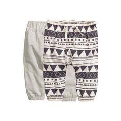 Lot de 2 pantalons en jersey   H&M