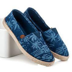 Letné slipony T016-13D.BL Espadrilles, Toms, Flats, Sneakers, Fashion, Espadrilles Outfit, Toe Shoes, Tennis, Moda
