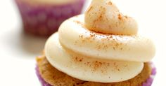 Eva Bakes - There's always room for dessert!: Sweet potato cupcakes with brown butter cream cheese frosting