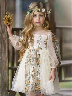 Spring Dresses Casual, Dressy Dresses, Toddler Girl Dresses, Girls Dresses, Toddler Girls, Tulle Dress, Lace Dress, Girls Special Occasion Dresses, Little Girl Outfits