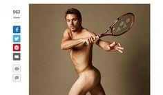 Quand Stan Wawrinka pose nu pour le magazine d\'ESPN…