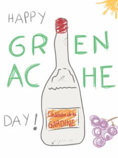 Happy GRENACHE DAY (& weekend) everyone ! #grenacheday #fandegrenache #cdp #chateauneufdupape