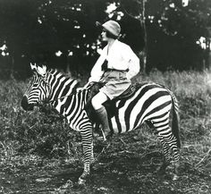 Adventure personified. Osa Johnson explored the world on sea planes and zebras, and literally wrote the book on adventure.  — Guest Editor Lizzie Garrett Mettler, Tomboy Style  Source: Tomboy Style: Beyond the Boundaries of Fashion