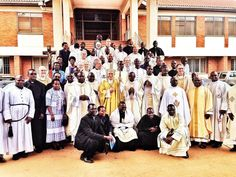 Holy Cross in East Africa at a recent ordination with South Bend native, Archbishop Michael Bloom, S.V.D.