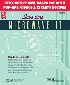 #Microwave tips and 12 tasty microwave recipes to help you save time over the #holidays