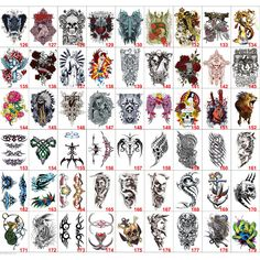 Find More Temporary Tattoos Information about Random 10pc Special Multi Style Large Temporary Tattoo Body Back Art Handsome Waterproof Tattoo Stickers Colorful Tatoo Tatouage,High Quality tattoo temporary,China sticker tattoo Suppliers, Cheap sticker transparent from Super Wall-Mart A+ Co., Ltd on Aliexpress.com