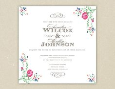Font and layout but not the flower border - on etsy for printable suite