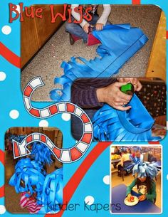 Thing 1/Thing 2 Wigs & Other Dr. Seuss Ideas (from Kinder Kapers)