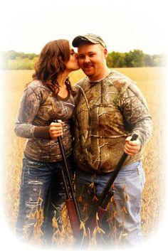 Country engagement, guns, camo facebook.com/yourphotosbytracy