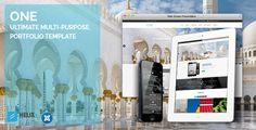 cool One | Ultimate Multi-Purpose, Portfolio Template