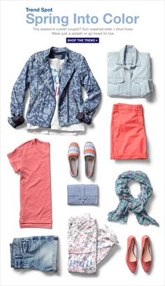 Trend Spot | Spring Into Color | SHOP THE TREND