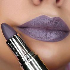 London Fog  A gorgeous grey with a blue/purple undertone! Follow @carolinebeautyinc and spend $50 on http://ift.tt/1gRnLVA and receive a free lipstick  free shipping #gerardcosmetics by gerardcosmetics
