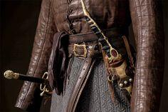 The Game of Thrones costume designer shares insight on Arya, Sansa and  Bran's new Winterfell looks.  (Arya)