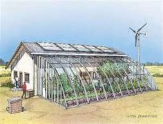 live totally off grid and self sufficient....lots of examples and pictures of people and homes living off the grid.
