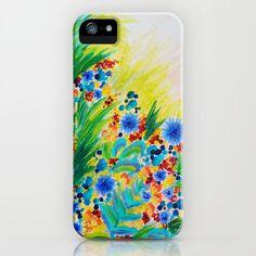 NATURAL ROMANCE Floral iPhone 4 4s 5 5s 5c 6 Case by EbiEmporium