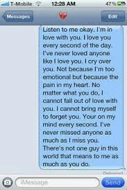 Tell your boyfriend this when he is mad at you and you miss him