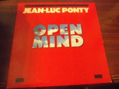 "Jean-Luc Ponty ""Open Mind"" LP"