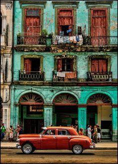 Early Morning Havana, Cuba (by John Galbreath)