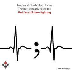 I am proud of who I am today #survivor #mentalhealth