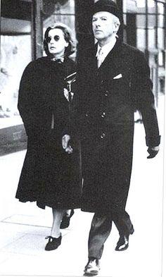 Greta Garbo and Cecil Beaton.