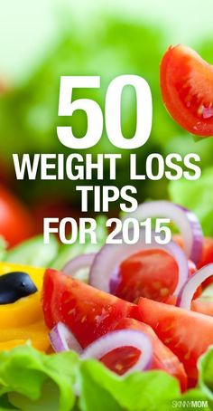 50 Weight Loss Tips for 2015