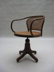 Thonet Desk Chair le corbusier perriand j.hoffmann era